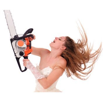 Chainsaw Bride - Wrong Safety Equipment