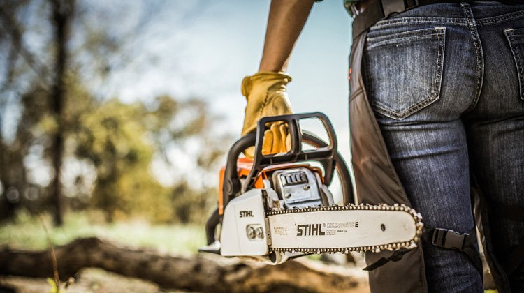 Stihl MS170 outdoor image - courtesy of Stihl image library