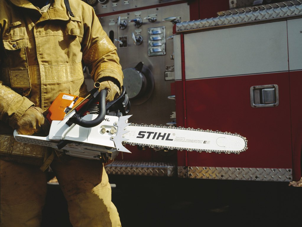 Stihl MS 460R Rescue Saw Enviromental Image