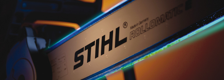 Stihl chainsaw artistic studio image - courtesy of Stihl image library