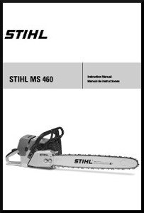 Stihl MS 460 Operators Manual