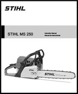 Stihl MS250 Operators Manual