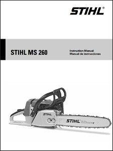 Stihl MS260 Operator Manual