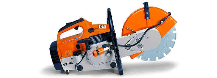 Photo of a Stihl TS400 cut off saw.